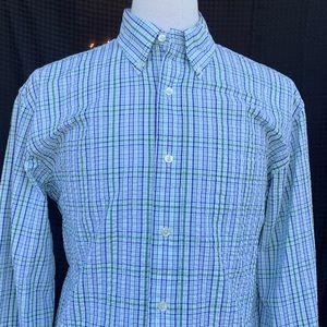 Brooks Brothers 346 Seersucker L/S Shirt. NWT!